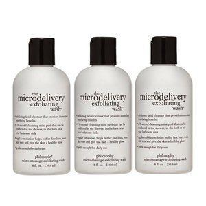 Lot of 3 PHILOSOPHY The Microdelivery Exfoliating